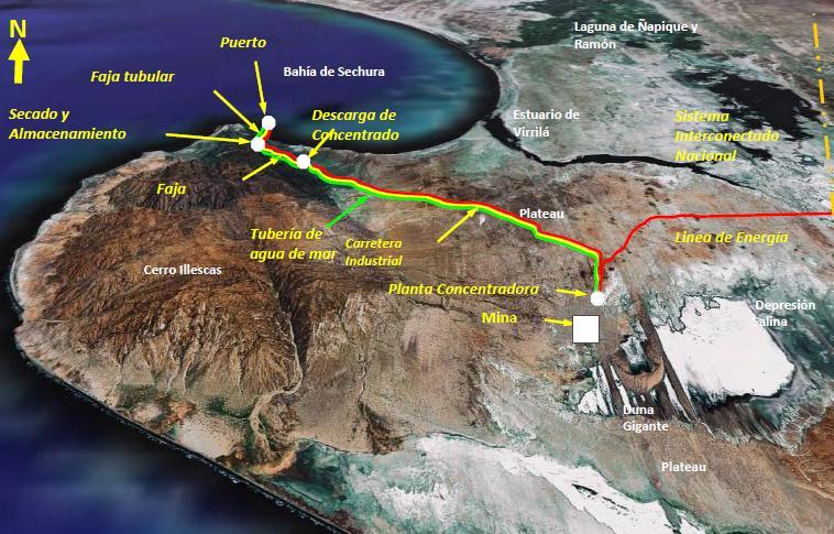 Map: Vale operations in San Martín de Sechura communal lands. Source: Vale.Com