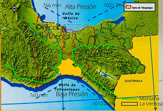 Two-hundred kilometers connect the Pacific Ocean with the Atlantic. Photo archive of the first consultation that occurred in the Isthmus, specifically regarding Southern wind farm.