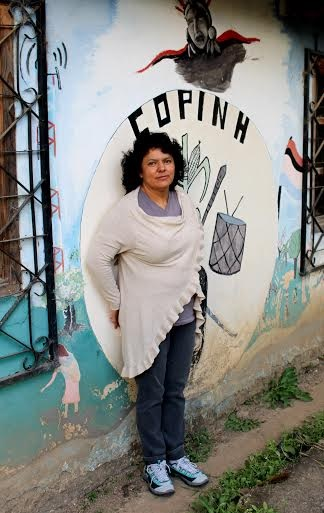 Berta Cáceres. Photo: Goldman Environmental Prize