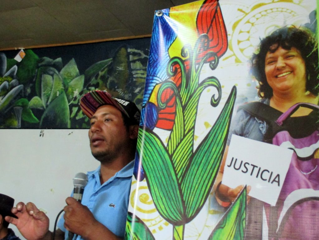 Tomás Gómez became the interim general coordinator of COPINH following Berta Cáceres' murder. All photos by Sandra Cuffe.