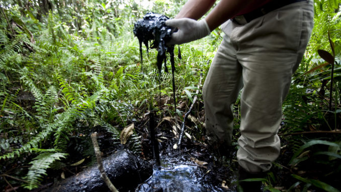 Ecuadoreans Won't Back Down in Fighting Chevron-Texaco Over